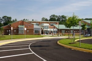 The new Piney Branch Elementary School in Prince William County, VA